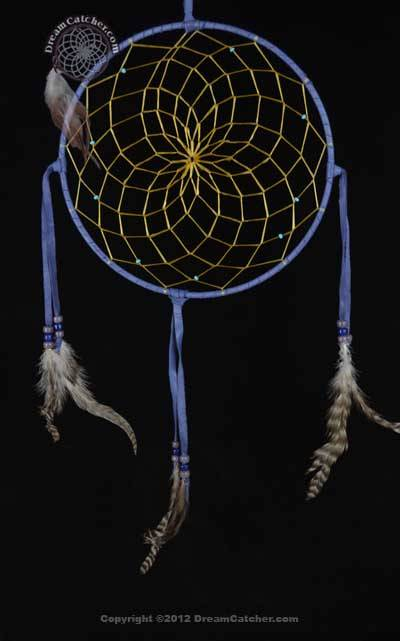 9 Inch Navajo Dream Catcher with Glass Beads