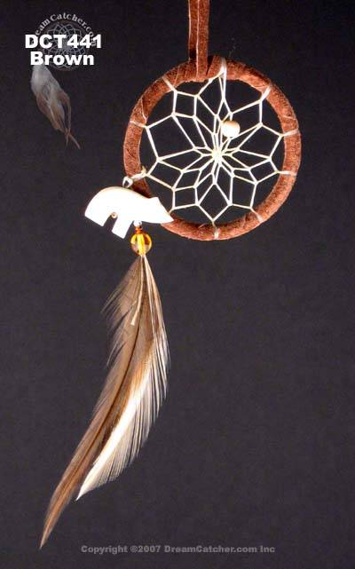 Bear totem dreamcatcher (2 inch)