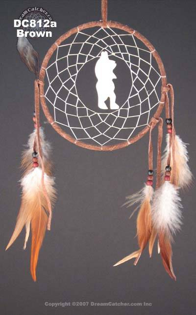 Bear Totem Dreamcatcher (5 inch)