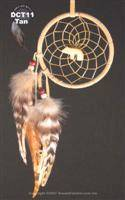 Bear totem dream catcher (3 inch)