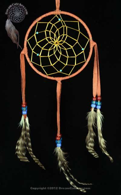 Authentic 40 Inch Navajo Dream Catcher With Glass Beads Mesmerizing How To Make Authentic Dream Catchers