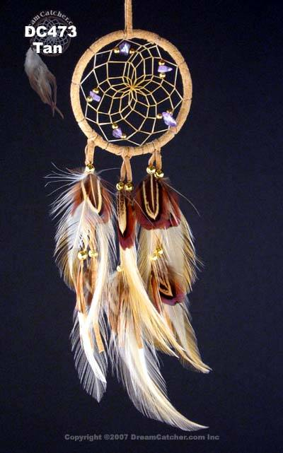 Natural Dream Catcher With Hackle And Pheasant Feathers Beauteous Dream Catcher Pic