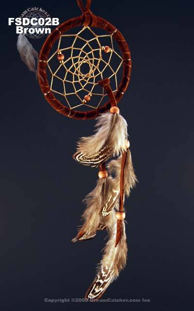 Beautiful Contemporary Dreamcatcher (2.5 inch)
