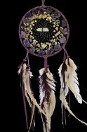 Vision Seeker Cluster Dream Catcher with Amethyst, Jasper, Citrine and  Turquoise stones