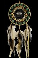 Vision Seeker Cluster Dream Catcher with Aventurine, Jasper, Citrine and  Turquoise stones