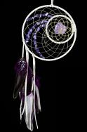 Woodland Dream Catcher Detailed with Amethyst semi-precious stones